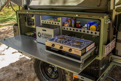 澳洲Patriot X 系列越野露营拖挂